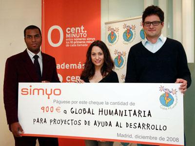 900 euros para global humanitaria blog de simyo for Oficinas simyo