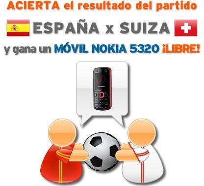 Mundial Sudáfrica 2010: España vs Suiza
