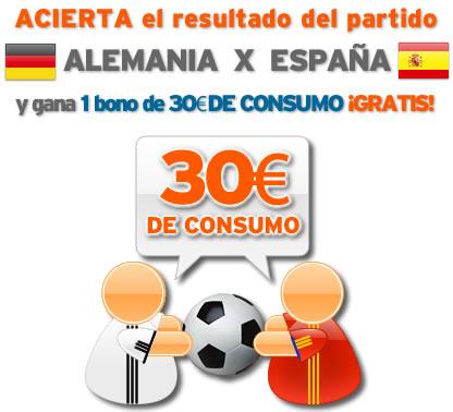 Porra Alemania vs España