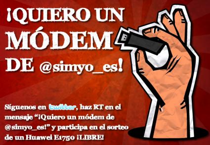 ¡¡¡Quiero un modem de @simyo_es!!!