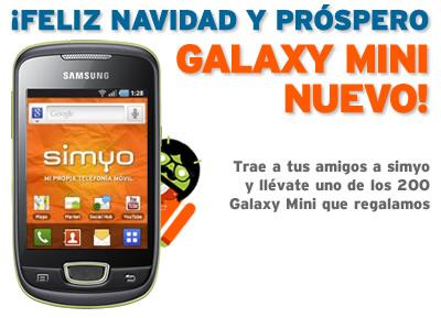 galaxy mini Regalamos 200 móviles Samsung Galaxy Mini entre nuestros clientes