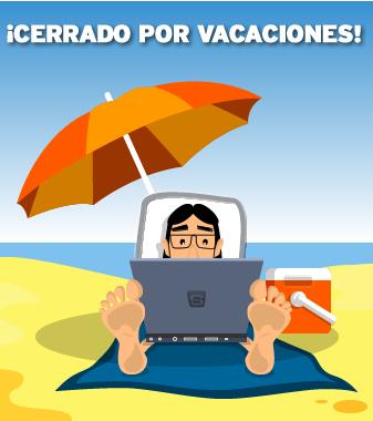 Cerrado por vacaciones blog de simyo for Oficinas simyo