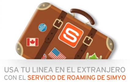 7062766a3bc ¿Quieres saber cómo se usa el servicio de Roaming de simyo? Échale un  vistazo a este post y estarás funcionando en un pis pás 😉