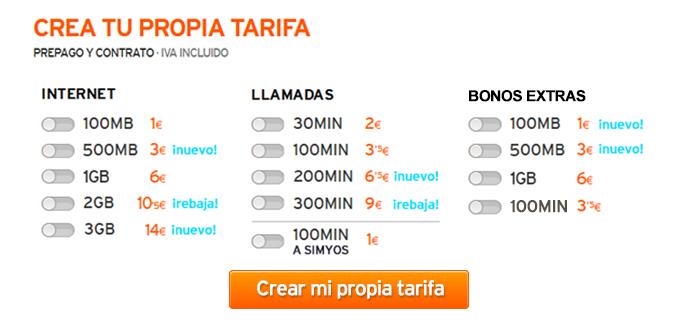 Tarifas