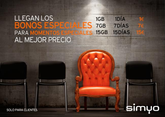 Llegan los nuevos bonos especiales blog de simyo for Oficinas simyo